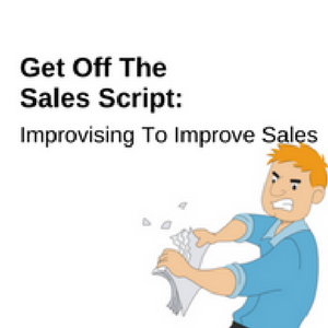Get off the sales script